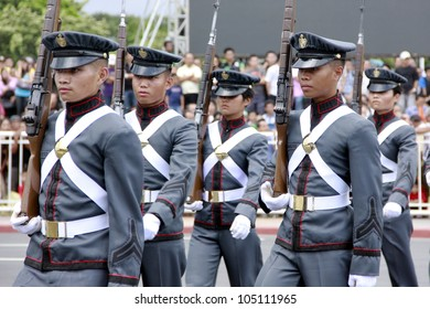 MANILA,PHILIPPINES-JUNE 12:Philippines Armed Forces  presentation & parade at The Philippines Independence day on June 12, 2012  in Manila. The Philippines celebrate the 114th Independence Day.