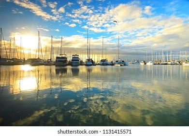 Manly Boat Harbour Sunrise