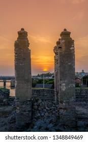 Mannar fort in Sri lanka