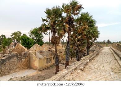 Mannar - Sri Lanka - Circa 2013 - Views of the old dutch fortress