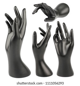 Mannequin Hand on white backgound