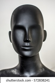 A Mannequin head