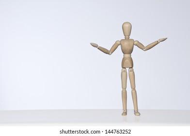 mannequin posing