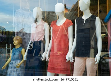 Designer Clothes On Exhibition Images Stock Photos Vectors Shutterstock