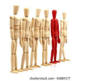 Mannequins formation.