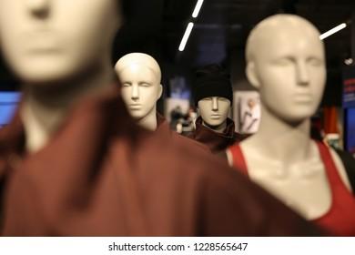 Mannequins in Stockholm, Sweden.