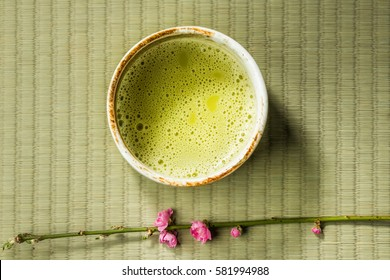 Manners of powdered green tea tea ceremony Japan