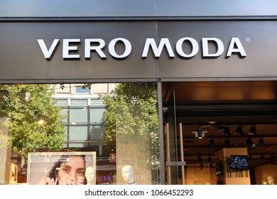 fecc6f1c Mannheim, Germany - August 23, 2017: Vero Moda store. Vero Moda is