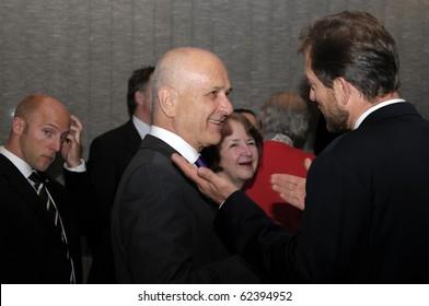 MANNHEIM-OCTOBER 5: YORAM BEN ZEEV,Israel ambassador in Germany,at Jewish Community Center on October 05, 2010 in Mannheim Germany