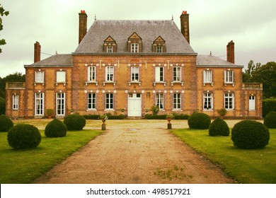 Manor house in Normandie, Rouen , France