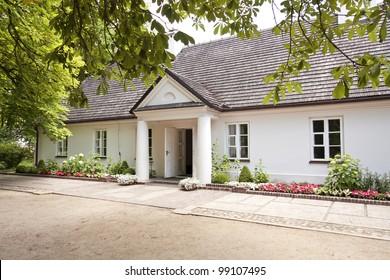 Manor-house near Warsaw. Place of birth Frederick Chopin - Zelazowa Wola.