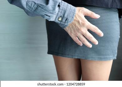 What Ass in short skirt necessary