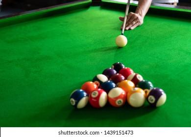 Pool Billiards Images, Stock Photos & Vectors   Shutterstock