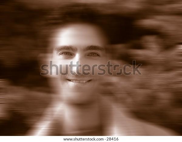 man's portrait