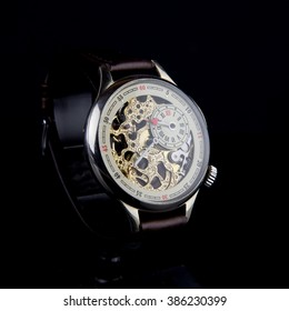 Man's watch. Luxury goods