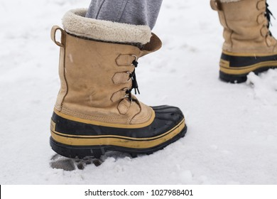 Mans winter boots