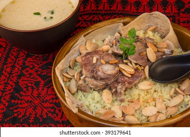 Mansaf - traditional Jordanian