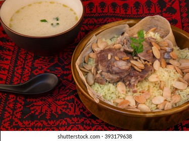 Mansaf - traditional Jordanian and Palestinian dish