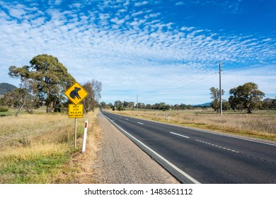 Mansfield, Victoria, Australia – March 24, 2017. Motor road in Australia with 'Koala' road sign and Help for Wildlife phone number.