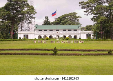 The Mansion House Baguio, Phillippines. June 5, 2019- Baguio, Phillippines : The Mansion House is the official summer palace of the President of the Philippines