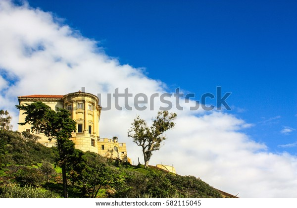 Mansion on a hill top