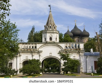 Mansion of Russian kings Izmaylovo in Moscow.