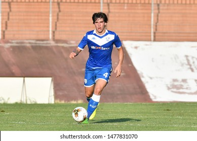 Mantova, Italy, August 10 2019 Sandro Tonali Brescia during the Amichevole - Brescia vs Real Valladolid CALCIO SERIE A