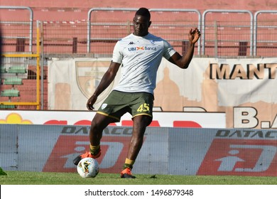 Mantova, Italy, September 04 2019 MARIO BALOTELLI OF BRESCIA  during Test Match 2019 - Mantova Vs Brescia Soccer Test Match