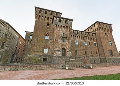 Mantova,Lombardy,Italy-2 March 2017: The castle of Saint George is one of the most representative monuments of the city of Mantua and part of the Palace of Gonzaga.