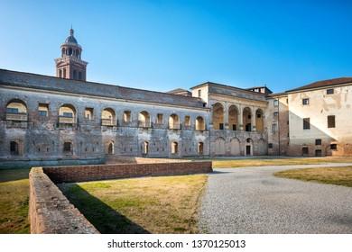 MANTUA – Cortile della Cavallerizza. Mantua, Italy