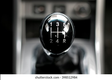 manual gearbox in the car