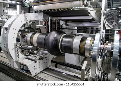 Manufacture of automobile tyres.Bila Tserkva. Ukraine. 15-12-2017