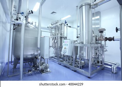 manufacturing facility in pharmaceutical factory