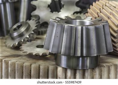 Manufacturing, Metal, Machine Part, Steel, Machine - Industry