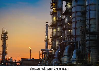 Herstellung von Industriebetrieben für Erdöl