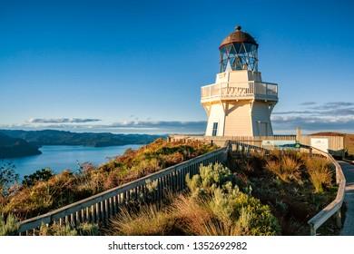 Manukau Heads Lighthouse, Auckland, NZ [wide view]