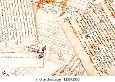 manuscripts of the 1700/1800 century