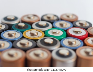 Many AA batteries (aka Double A) for electronic devices