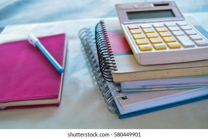 many book and calculator