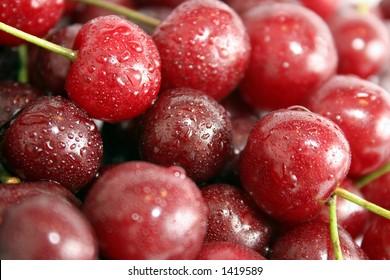 many cherries