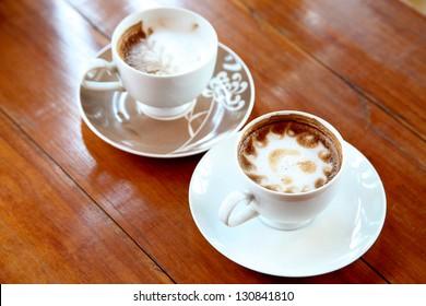Many coffee breakfast
