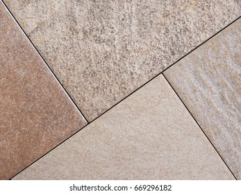 many different brown tiles samples useful as background