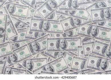 many dollars background