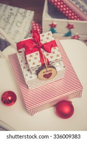 Many gifts for Christmas