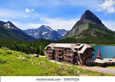 Many Glacier ,Glacier National Park, Montan