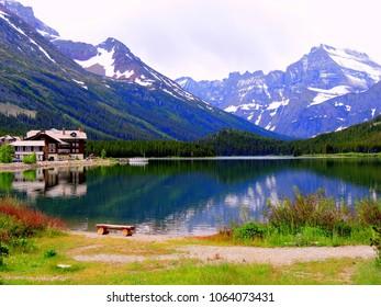 Many Glacier reflection