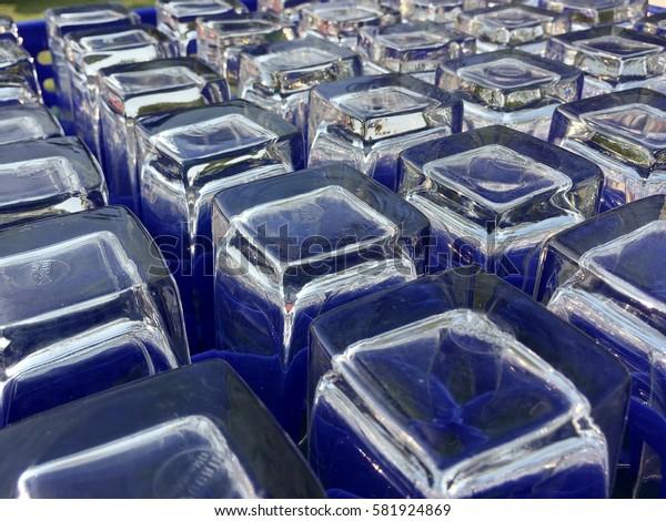 many glass