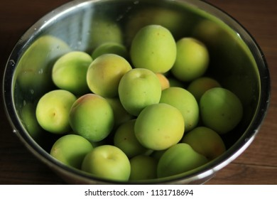 Many Green Plums