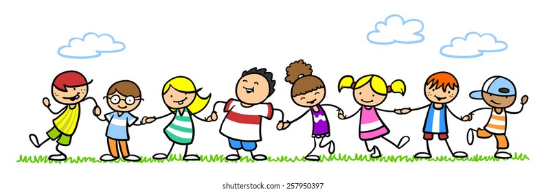 diverse children holding hands images  stock photos   vectors shutterstock beach background clipart portrait beach background clipart portrait