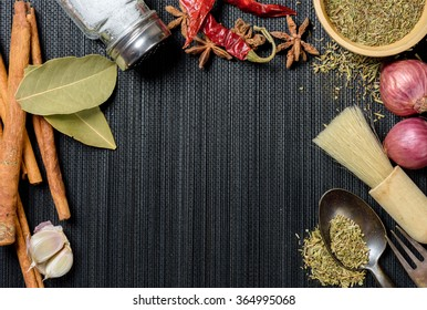 many herbs in the kitchen